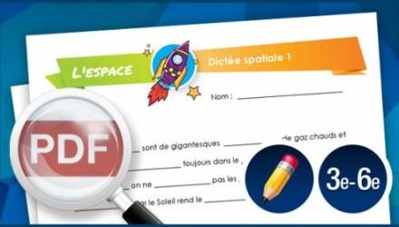 Dictée spatiale