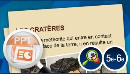 Cratère sur Terre !