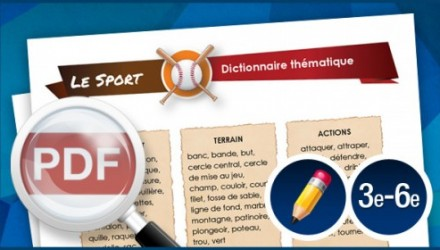 Dictionnaire thématique