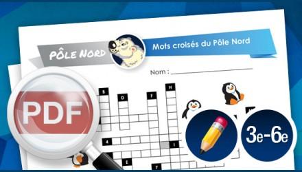 Mots croisés du Pôle Nord