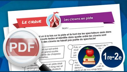 Les clowns en piste