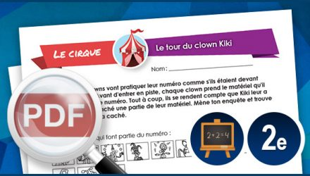 Le tour du clown Kiki